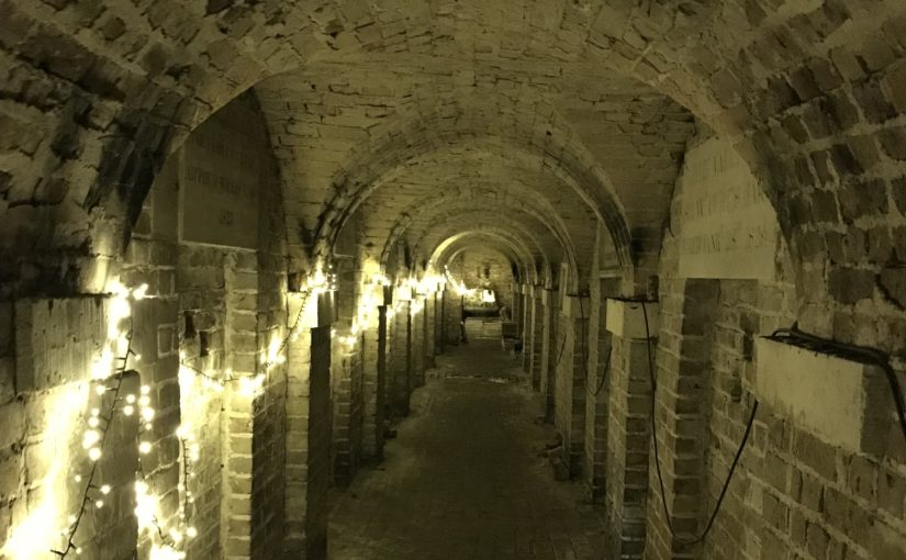 Tours of the crypt
